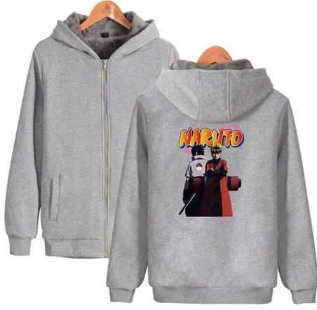 Warm blouse with ANIME Naruto S 36 Hood 9658267281 Odzież Damska Topy TX NQGUTX-5