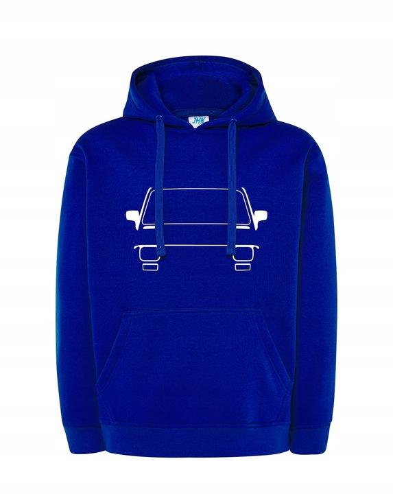 Męska bluza z kapturem FIAT 126P MALUCH PLR L 9471473334 Odzież Męska Bluzy SW MYCFSW-9
