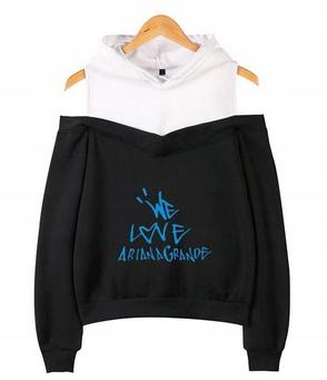 Women's blouse with Ariana Grande M 38's Hood 9654102932 Odzież Damska Topy YE XTIOYE-7