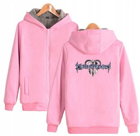 Warm Kingdom Heart Capture T-shirt with GRY Kingdo 9658454421 Odzież Damska Topy AI HQYOAI-1