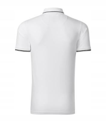 Elegancka Koszulka Polo Slim-FIt Malfini biała S 9569970759 Odzież Męska Koszulki polo HL UJFNHL-7