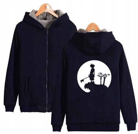 Warm hooded shirt with GRY Kingdom heart M 38 9658448046 Odzież Damska Topy EA XERWEA-6