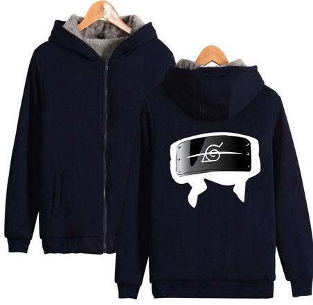 Warm blouse with ANIME Naruto M 38 Hood 9658449223 Odzież Damska Topy BW EHVVBW-8