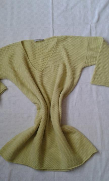 Le Tricot Perugia luksus sweterek z miesz kaszmiru 9835825797 Odzież Damska Swetry FC FZEBFC-3