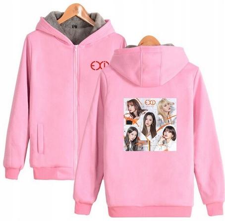 Warm blouse with EXID Hood 2019 S 36 9658458353 Odzież Damska Topy AH LGNYAH-8