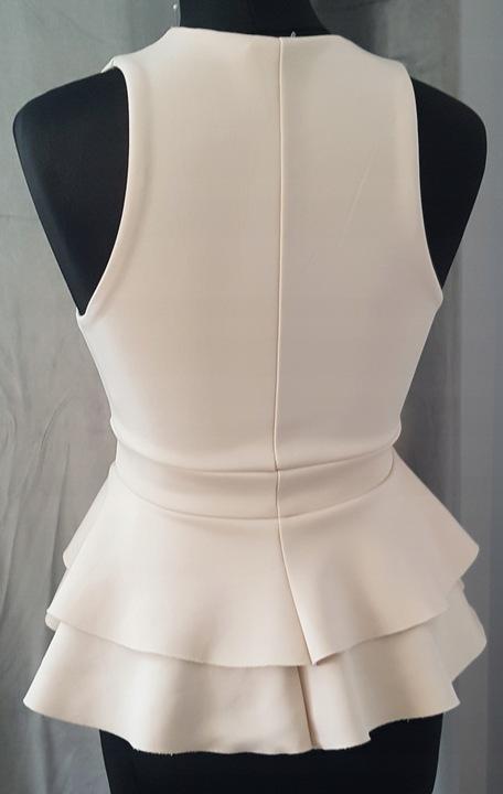 Bluzka RIVER ISLAND 36 S modna ecru 10503214120 Odzież Damska XG AGYYXG-6