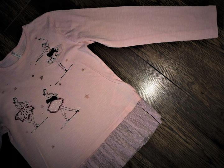 BLUZKA r.128 cm 7-8 lat marki Y.D baletnice 9931955319 Dziecięce Odzież HN ETQMHN-4
