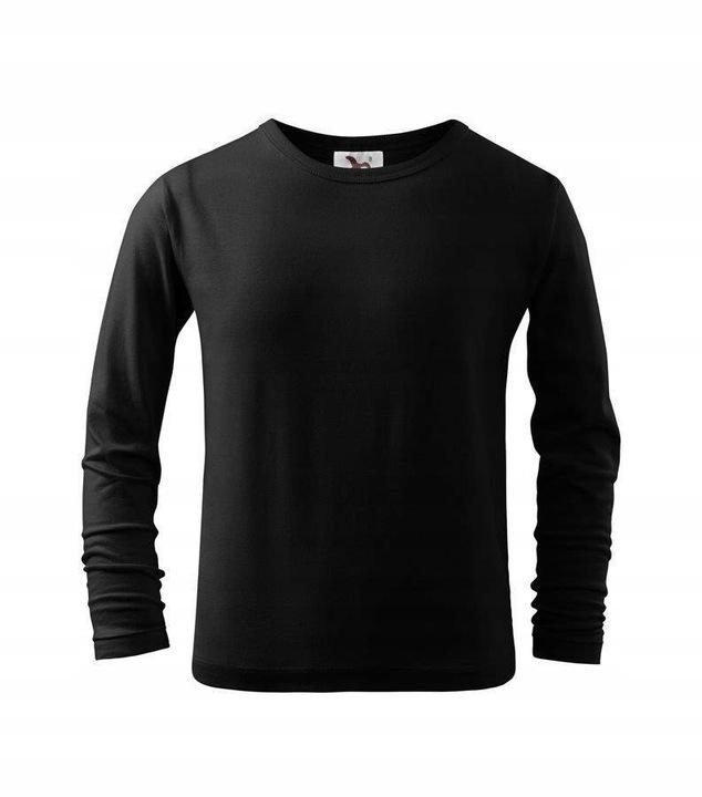 DZIECIĘCA koszulka MALFINI FIT-T LS czarna 110 9702606832 Dziecięce Odzież OP XQSZOP-7