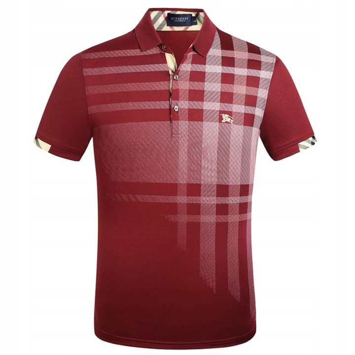 Burberry short sleeve embroidered polo shirt 9617686865 Odzież Męska Koszulki polo AF AJRHAF-8