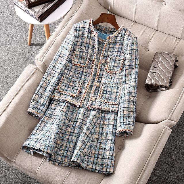 a płaszcz i sukienka bez rękawÓw stroje Garnitury 9818848787 Odzież Damska Sukienki wieczorowe KV HCKHKV-4