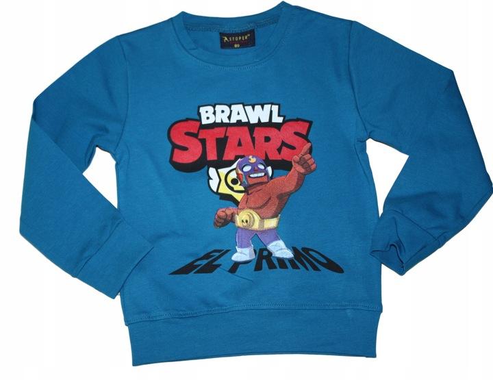 BLUZA BLUZKA BRAWL STARS R 80 9642307564 Dziecięce Odzież UN ARMHUN-7