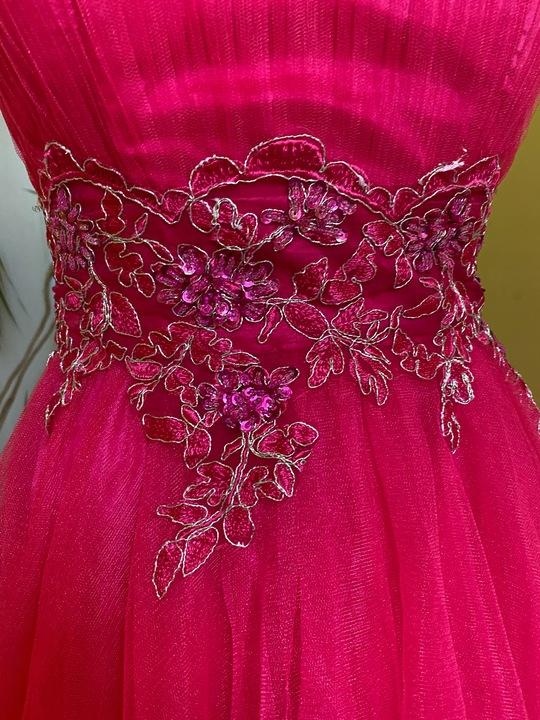 Quiz suknia balowa xxs r. 32 cudo 9777426779 Odzież Damska Sukienki wieczorowe JM TWQEJM-1