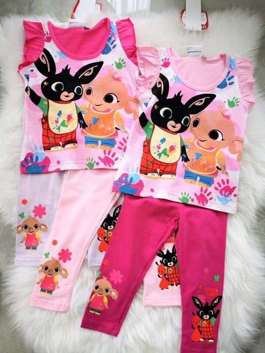 Bluzeczka BING t-shirt bluzka bajkowa bawełna 110 9519574119 Dziecięce Odzież FY KLTTFY-1