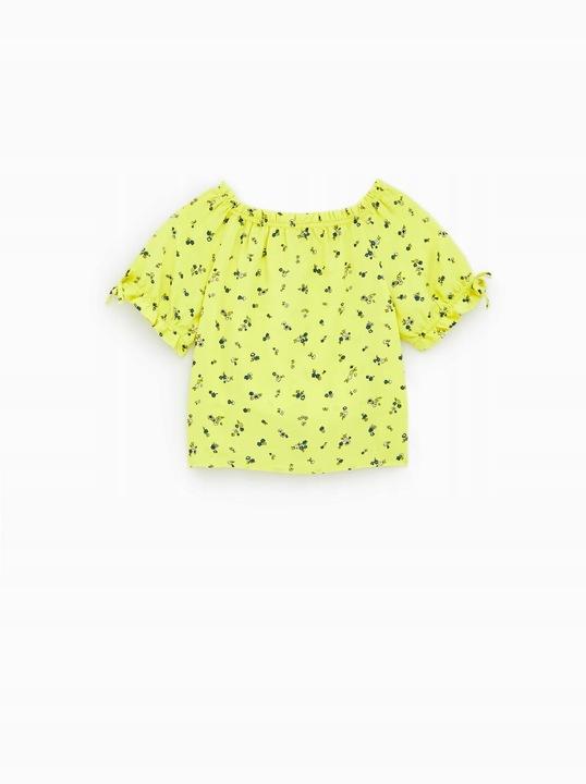ZARA bluzka 122/128 dla dziewczynki 5-6 lat TANIO 9929426070 Dziecięce Odzież VZ MITNVZ-1