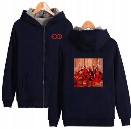 Warm blouse with EXID Capture 2019 4XL 48 9658459630 Odzież Damska Topy HC INDCHC-6