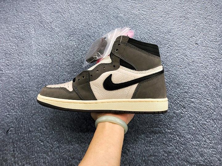 Travis Scott x Nike Air Jordan 1 9668977269 Buty Męskie Sportowe RQ SAWIRQ-5