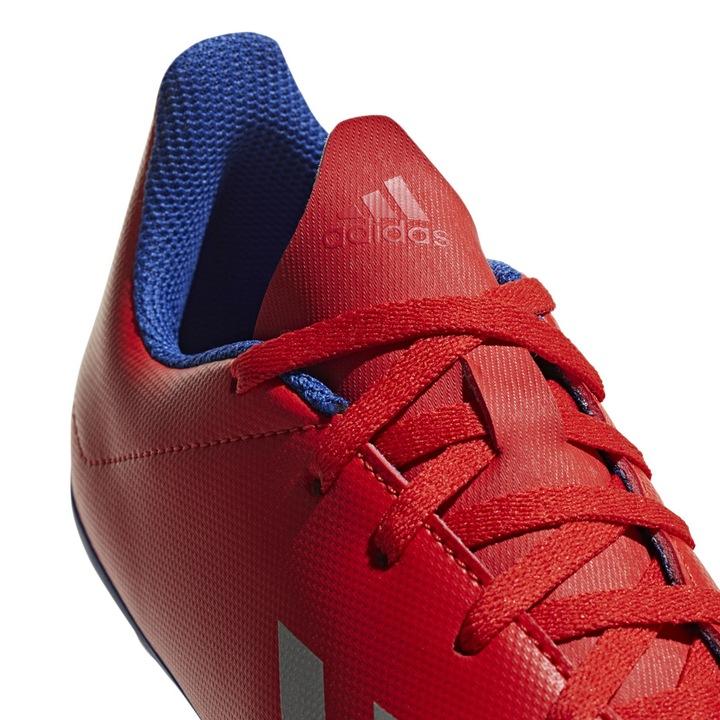 Buty piłkarskie adidas X 18.4 FxG JR czerwone BB93 9326198702 Buty Męskie Sportowe QT PVJWQT-6
