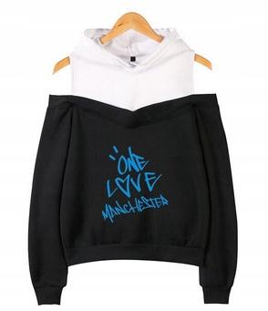 Women's blouse with Ariana Grande M 38's Hood 9654104843 Odzież Damska Topy DY JLPWDY-8