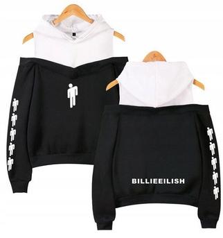 Warm Billie Eilish hoodie LATO M 38 9654104157 Odzież Damska Topy ZX XYYEZX-8