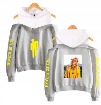 Warm Shirt with Billie Eilish's Capture L.40 9654104271 Odzież Damska Topy IT KQRYIT-5