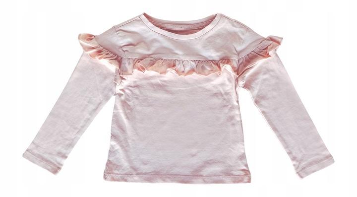 BLUZKA koszulka tshirt falbanka *122-128 9449930983 Dziecięce Odzież VZ YYYJVZ-9