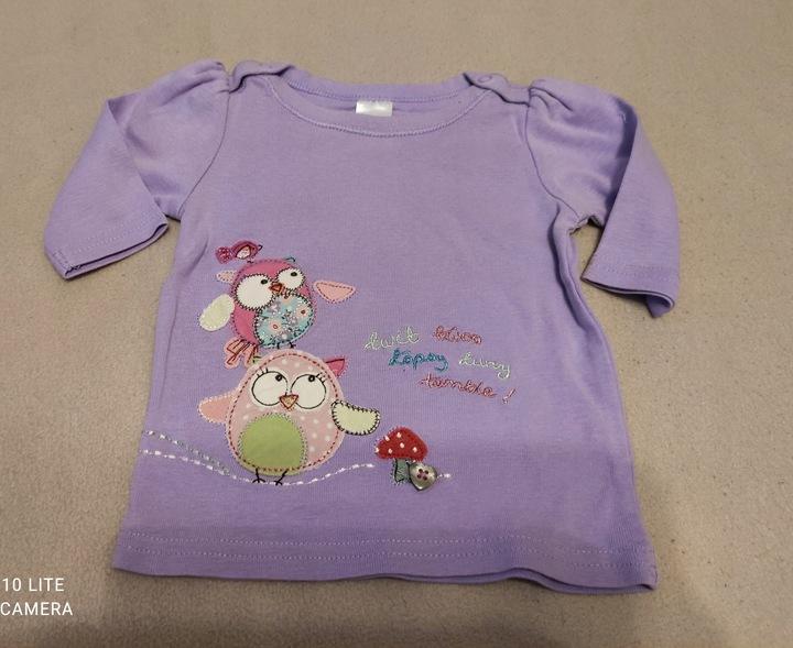 Next bluzeczka longslveve dla maluszka rozmiar 56 9799876079 Dziecięce Odzież PB UHOEPB-8