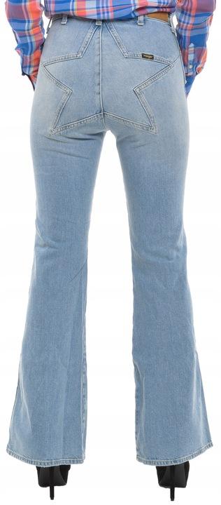 WRANGLER spodnie jeans RETRO STAR FLARE W32 L32 9377335112 Odzież Damska Jeansy XR QENUXR-8