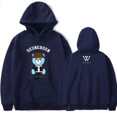 Seungyoon hoodie MISIO XXL 44 9654103852 Odzież Damska Topy JQ JOJIJQ-5