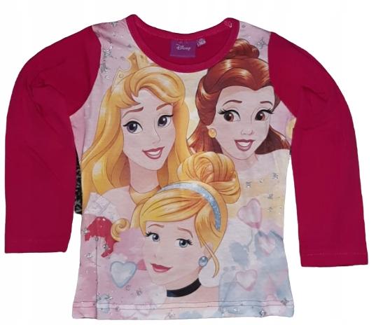 bluzka t shirt DISNEY KSIĘŻNICZKI PRINCESS 116 9378907892 Dziecięce Odzież OD FZEQOD-9