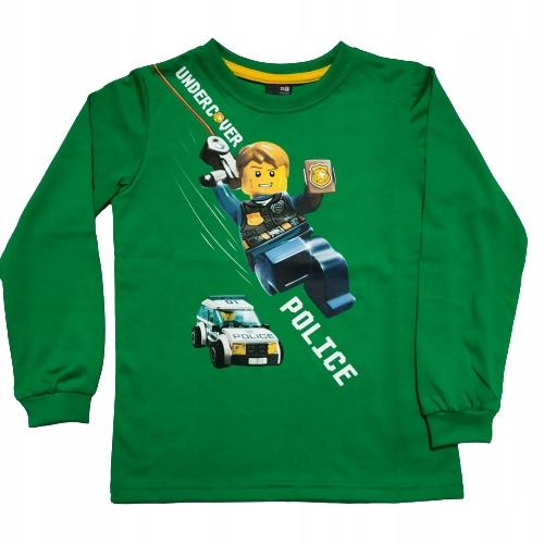 BLUZKA CHŁOPIĘCA DŁUGI RĘKAW LEGO R.116__GT 9892661723 Dziecięce Odzież PP BNBLPP-5