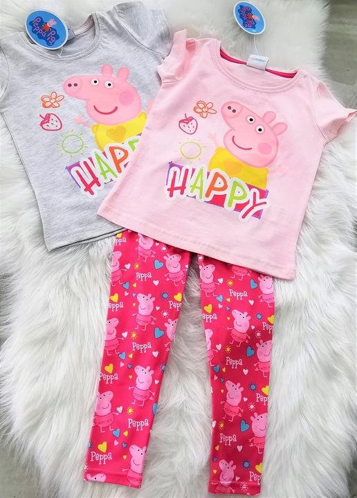 Bluzeczka ŚWINKA PEPPA t-shirt PEPA bluzka 116 9519511624 Dziecięce Odzież MS SLJGMS-7