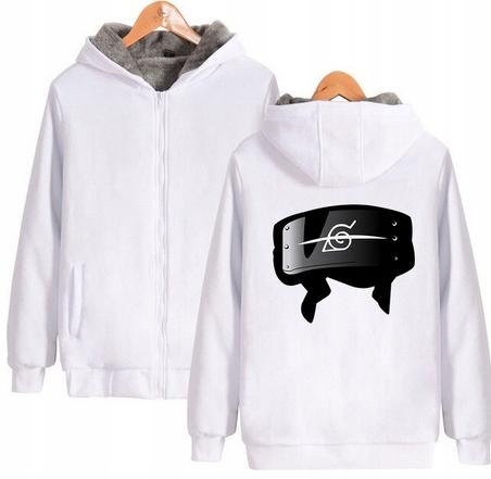 Warm blouse with ANIME Naruto 4XL 48 9658448433 Odzież Damska Topy AA YOZSAA-9