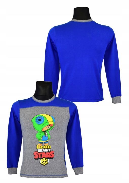 bluzka BRAWL STARS bawełna wzÓr A5 rozm,128 9770942327 Dziecięce Odzież FM EIKIFM-5