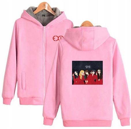 Warm blouse with EXID Hood 2019 S 36 9658451720 Odzież Damska Topy EH QRSUEH-4