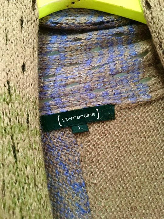 ST-MARTINS DŁUGI SWETER CIENIOWANY MOHAIR R.L 9746083597 Odzież Damska Swetry SM CGGYSM-4