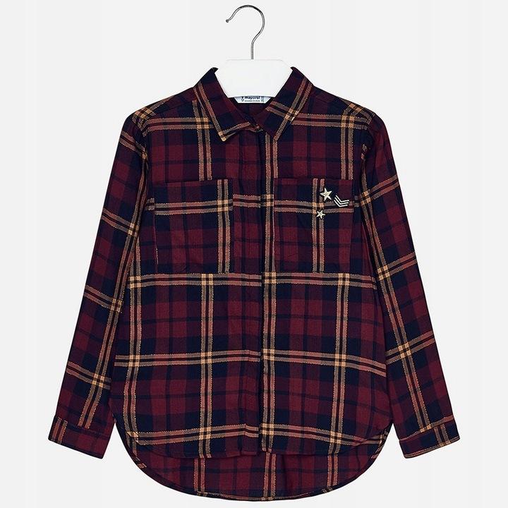 Bluzka koszulowa 7128-064 Mayoral 140 cm 8519828475 Dziecięce Odzież LE JMQWLE-7