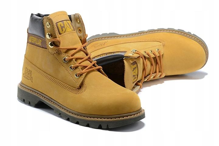 Caterpillar Buty CAT Tooling Boots Workwear Yellow 9814466965 Buty Męskie Sportowe AE ZVKCAE-3