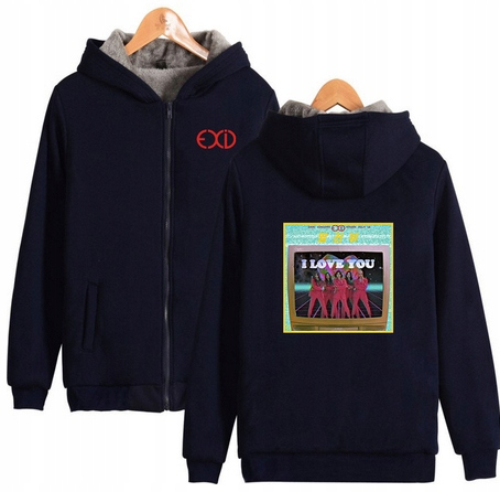 Warm blouse with EXID Hood 2019 XL 42 9658459326 Odzież Damska Topy AO ICXCAO-5