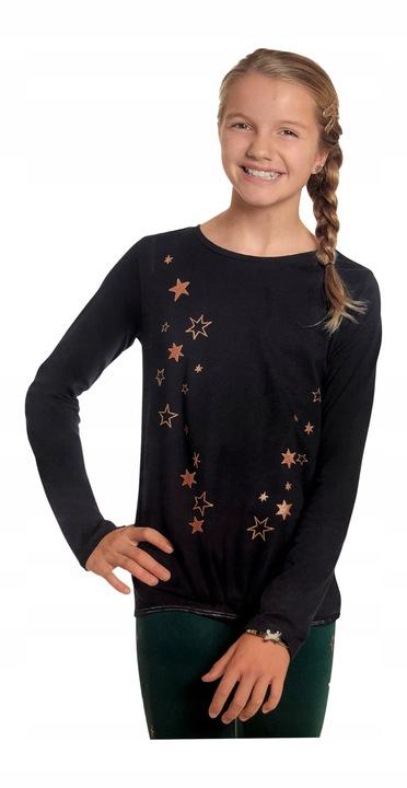 BLUZKA koszulka tshirt GWIAZDKI *134 9799278508 Dziecięce Odzież MK IZICMK-4
