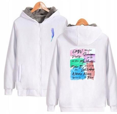 Warm KPOP Hood blouse GOT7 UNISEX XS 34 9658450997 Odzież Damska Topy AN PYJHAN-3