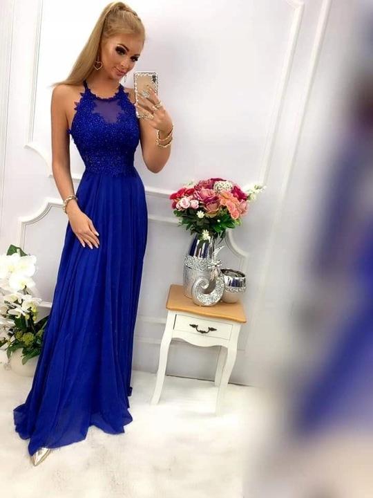 Lambi SZARA SUKIENKA ślub cywilny wesele XS 9741802209 Odzież Damska Sukienki wieczorowe EI OZPAEI-7