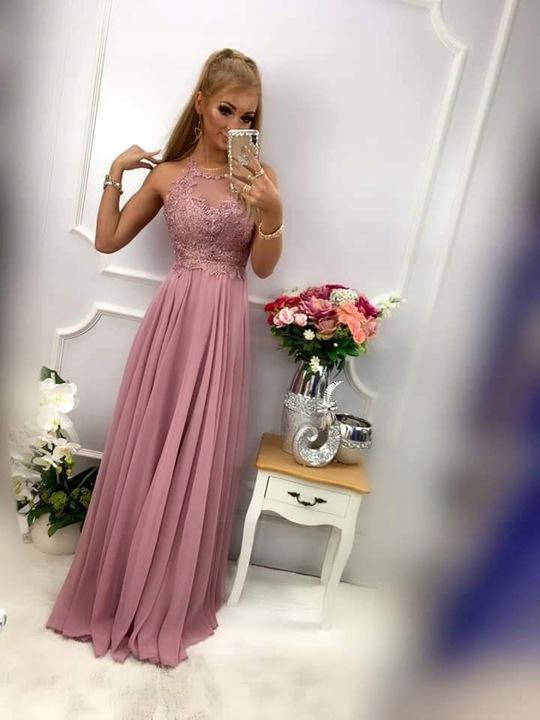 Lambi CHABROWA SUKIENKA ślub cywilny wesele XL 9741842595 Odzież Damska Sukienki wieczorowe TX MTNSTX-3
