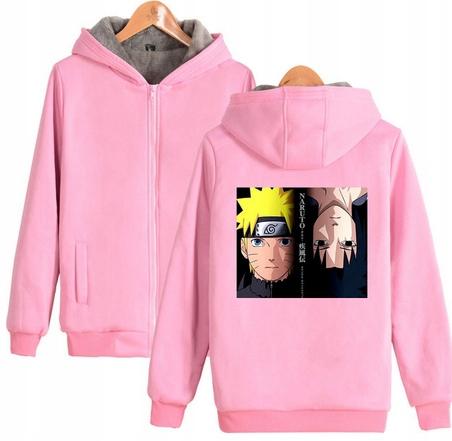 Warm blouse with ANIME Naruto XS 34 Hood 9658454668 Odzież Damska Topy GM XXEMGM-7