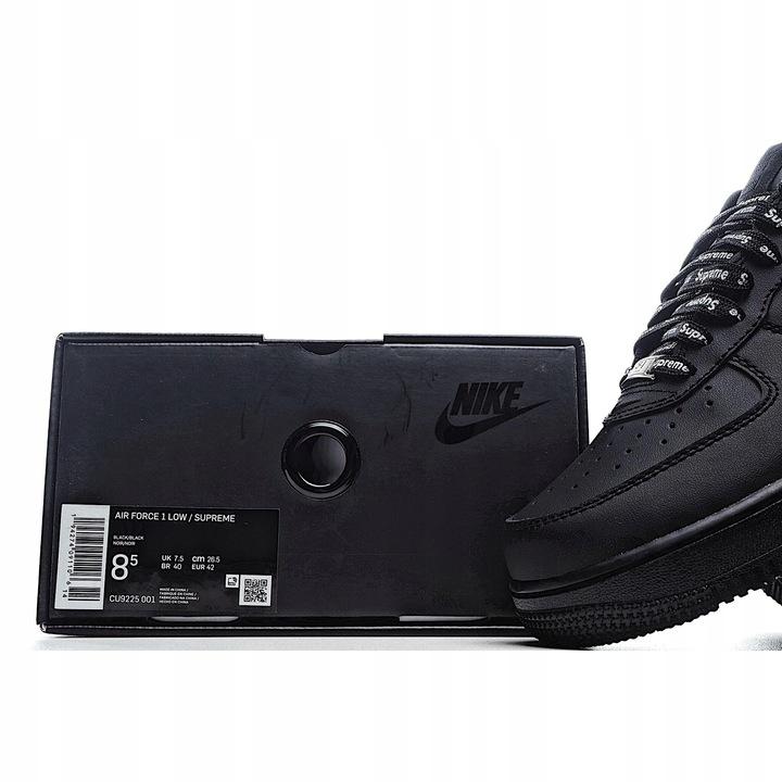Supreme NIKE AIR FORCE 1 Casual Low Shoes 9833386650 Buty Męskie Sportowe OV CZBYOV-1