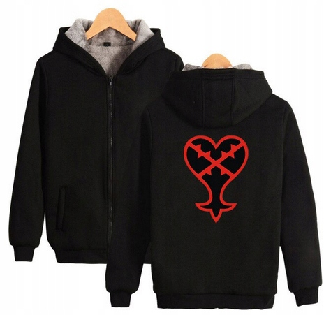 Warm Capture blouse with GRY Kingdom heart 4XL 48 9658455468 Odzież Damska Topy GJ NTKSGJ-6