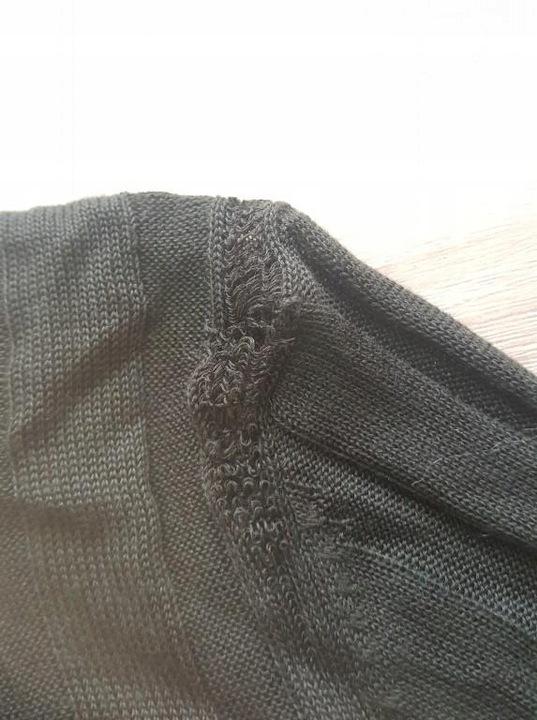 H6A210*ZARA SWETER ZIELONY PRĄŻKOWANY 36 F01 9843613156 Odzież Damska Swetry BR PQOCBR-3