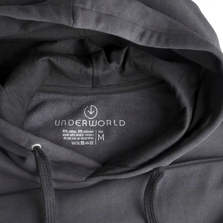 Bluza kangurka UNDERWORLD unisex Leaf 10114079527 Odzież Damska LQ DHOFLQ-2