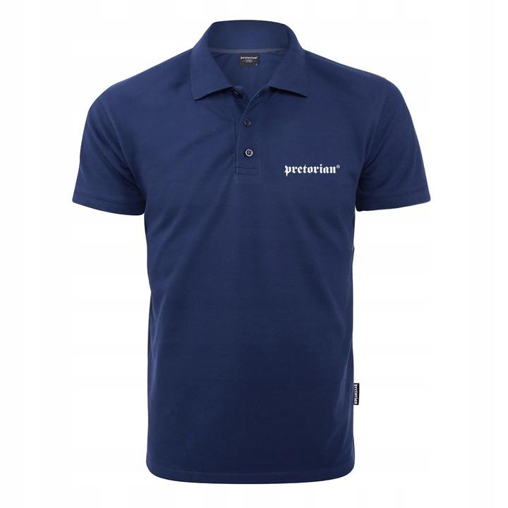 Koszulka polo męska Pretorian Logo r.XL 9421980202 Odzież Męska Koszulki polo II QPTJII-7