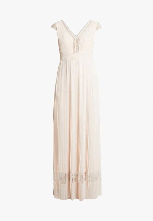 TFNC GIA - Nude - Suknia balowa - Rozmiar 38 9588003324 Odzież Damska Sukienki wieczorowe BV JKMIBV-1