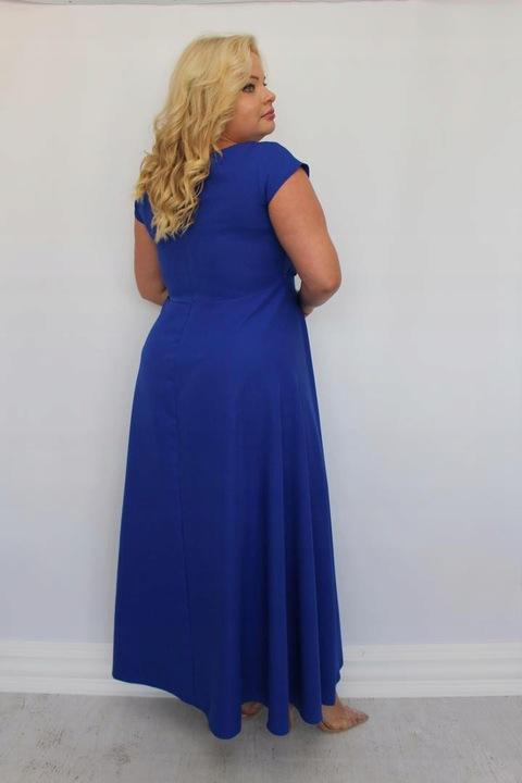 ELEGANCKA Sukienka WESELE 44 46 48 50 52 54 56 58 8482058039 Odzież Damska Sukienki wieczorowe II MNLRII-2